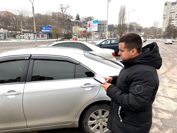 OnTaxi перевірили авто в Черкасах