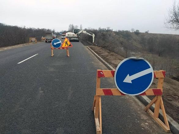 На Черкащині завершують реконструкцію частини дороги обласного значення (ФОТО)