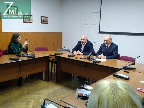 Саакашвілі став радником міського голови Черкас