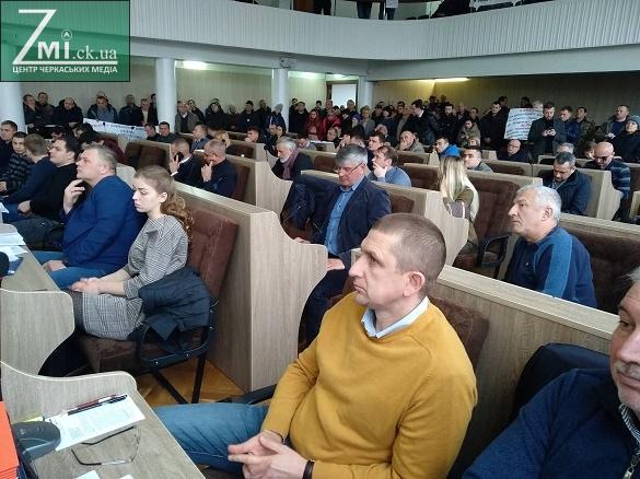 Скасувати не можна залишити: черкаські депутати проголосували про скасування тарифу за негабарит
