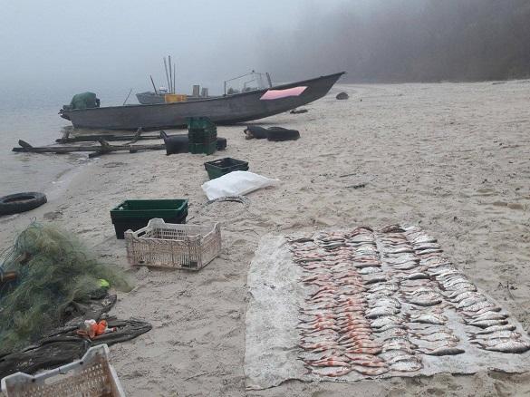 Браконьєри на Черкащині виловили риби на понад 20 тисяч гривень (ФОТО)
