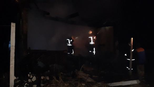 На Черкащині загорівся житловий будинок (ФОТО)