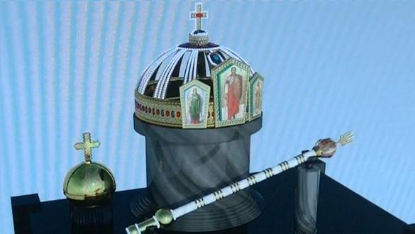 Юний черкащанин створив 3Д-модель корони Володимира Великого