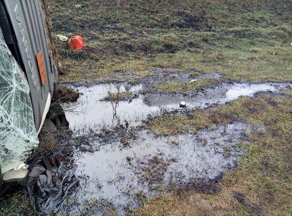 Через витік палива: екологи Черкащини з'ясовують ймовірність забруднення грунту і річки (ВІДЕО)