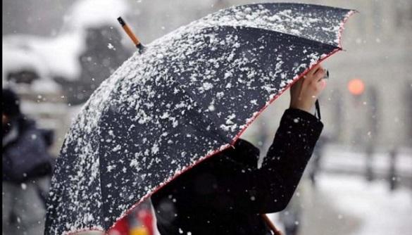 Синоптики попереджають про мокрий сніг та ожеледь на Черкащині