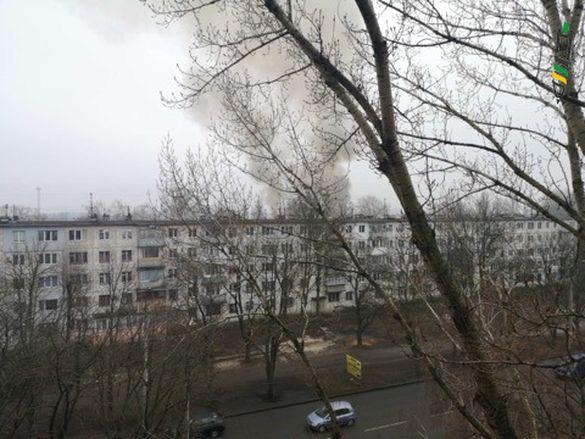 Пожежу, де горіла занедбана будівля у Черкасах, ліквідували. Збитків і постраждалих немає