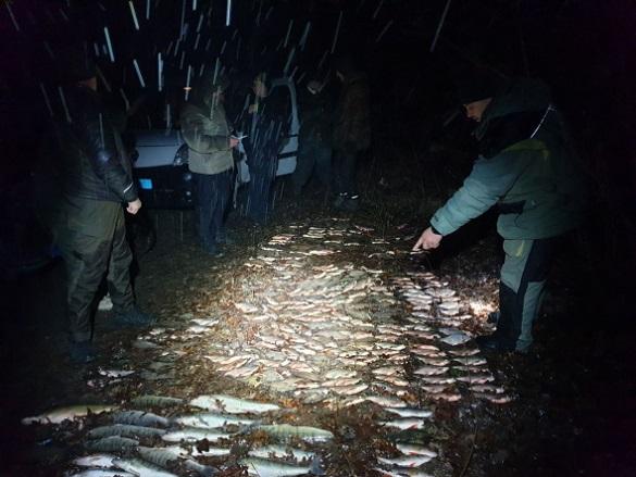 Бракон'єри на Черкащині виловили риби на понад 30 тисяч гривень (ФОТО)