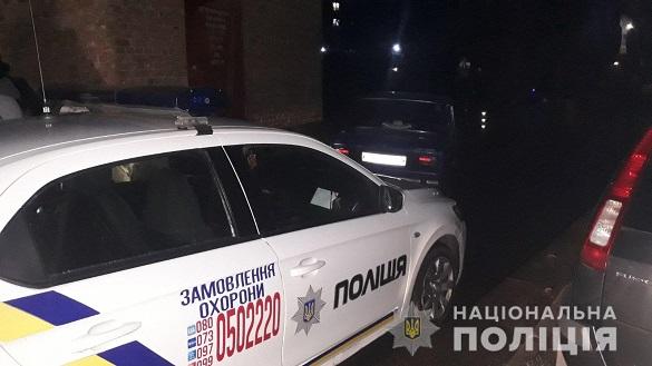 48-річний нетверезий кермувальник у Черкасах намагався втекти від поліцейських (ФОТО)