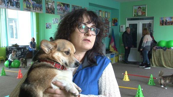 Черкаські кінологи хочуть створити центр реабілітації для дітей з інвалідністю