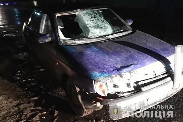 На Черкащині п'яний водій в'їхав на чотирьох підлітків