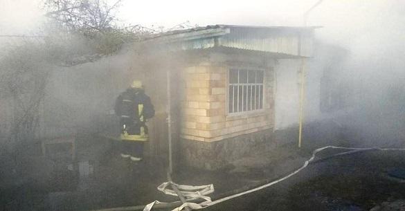 На Черкащині у пожежі загинув господар будинку (ФОТО)