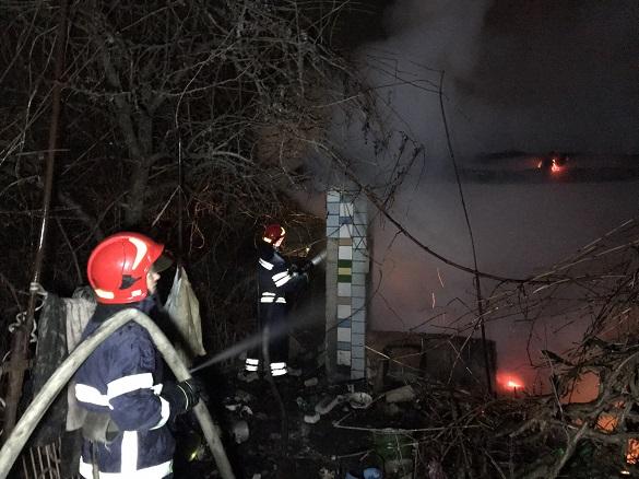 У пожежі на Черкащині загинув чоловік (ФОТО)