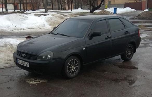 Сьогодні вночі у Черкасах викрали автівку (ФОТО)