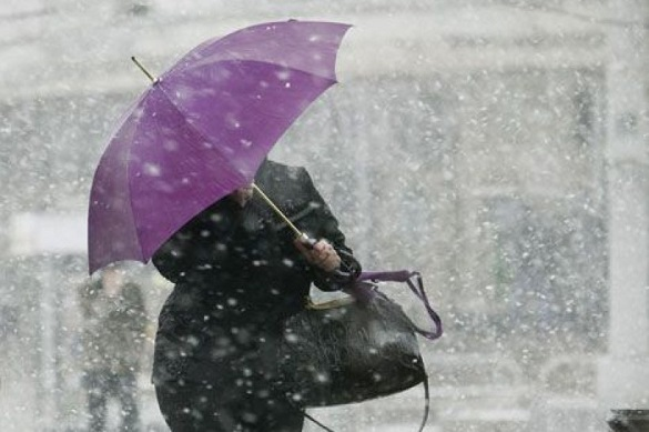 Завтра на Черкащині очікуються пориви вітру та мокрий сніг