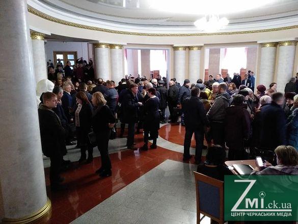 Сільські громади приїхали до Черкас, щоб відстояти інтереси створення ОТГ
