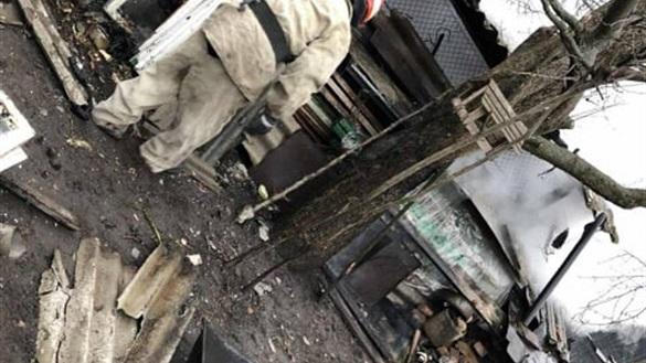 Пенсіонерка на Черкащині випадково спалила собі сарай