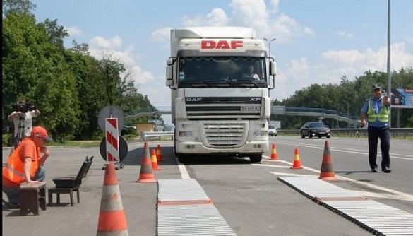 Мешканці Черкащини перекрили автотрасу з вимогою встановити вагові комплекси