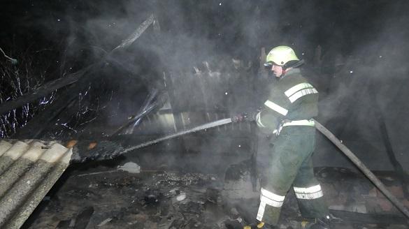 Через пічне опалення в Черкаській області трапилися дві пожежі (ФОТО)