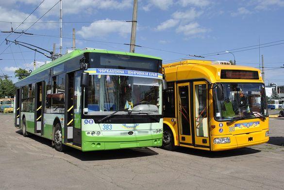 У Черкасах обстежуватимуть пасажиропотік тролейбусів