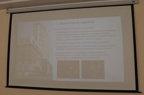 У Черкасах запланували створити архітектурне освітлення одної з центральних вулиць