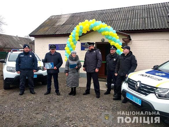 На території Білозірської ОТГ запрацювала поліцейська станція (ФОТО)