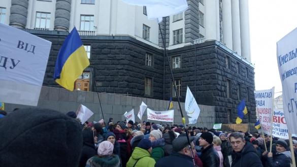 Аграрії Черкащини на мітингу в Києві закликали депутатів звільнити корупціонера Ситника з НАБУ