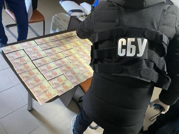 На Черкащині СБУ викрила посадовця ДСНС, підозрюваного у вимаганні грошей з підприємців