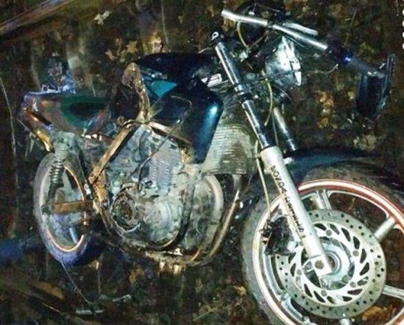 На Черкащині нетверезого мотоцикліста збив потяг