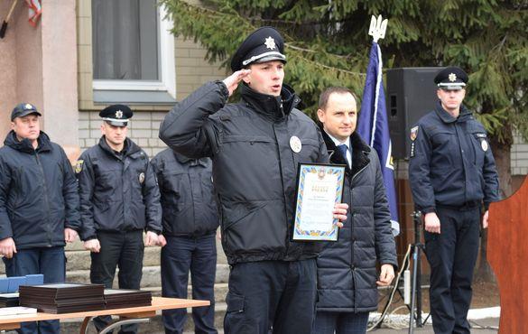 Патрульні поліцейські Черкащини відзначили четверту річницю