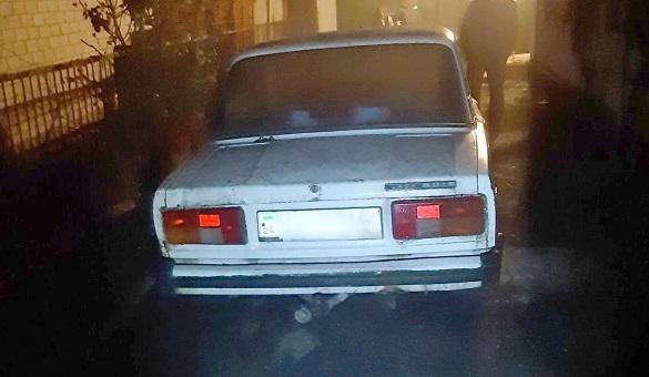 Двоє на Черкащині викрали автомобіль (ФОТО)