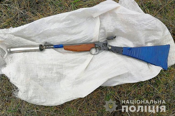 Чоловік на Черкащині ходив зі зброєю у мішку (ФОТО)