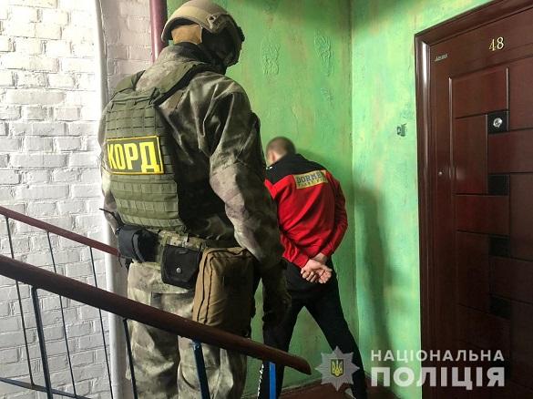 Наркоторговця затримали на Черкащині (ФОТО)