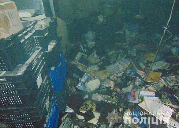 В Умані загорілося приміщення адмінбудівлі хасидів (ФОТО)