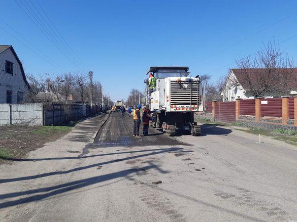 У одному з сіл Черкащини почали ремонт дороги (ФОТО)