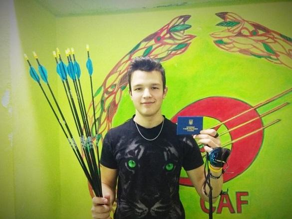 Студент черкаського вишу став переможцем всеукраїнського турніру зі стрільби з лука (ФОТО)