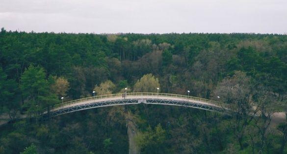 Із мосту кохання у Черкасах стрибнув 40-річний чоловік