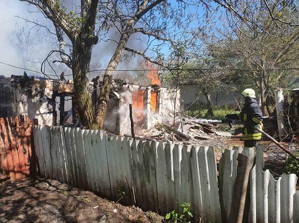 Пожежа в будинку сталася на Черкащині (ФОТО)