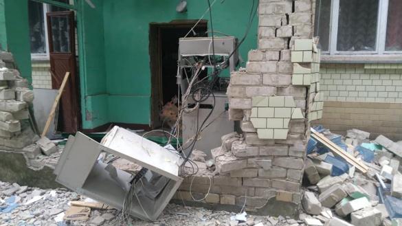 У Черкаській області підірвали банкомат (ФОТО)