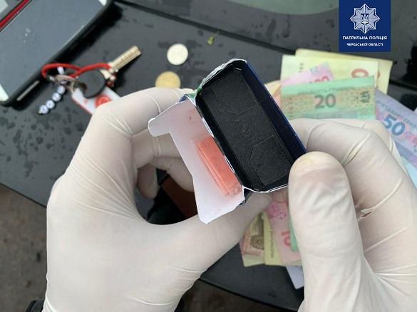Ймовірного наркоторговця затримали у Черкасах (ФОТО)
