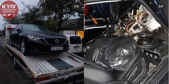 У селі на Черкащині розбирали на деталі крадені по всій Україні автівки (ФОТО)