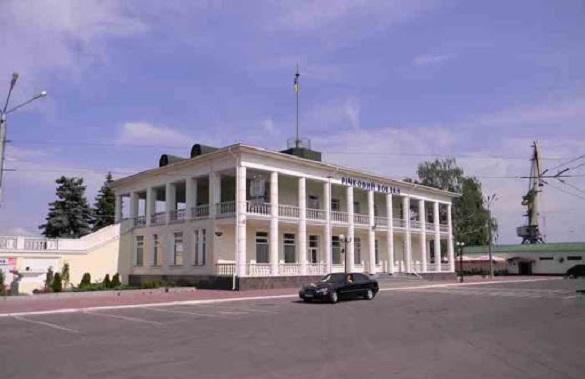 Річковий вокзал та ОДА в Черкасах