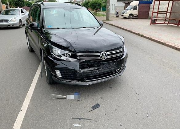 У Черкасах зіштовхнулись два автомобілі (ФОТО)