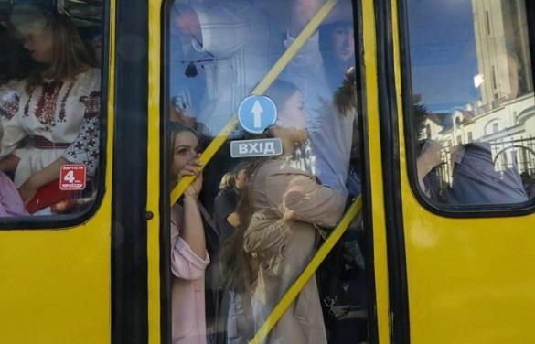 Штрафи до 34 тисяч: у Черкасах почали складати протоколи на водіїв маршруток