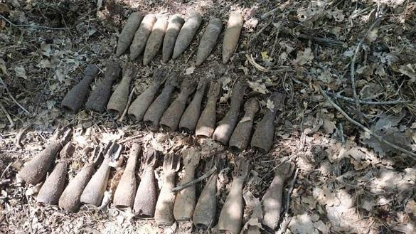18 боєприпасів часів минулих війн знищили сапери на Черкащині