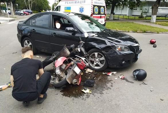 В ДТП у Черкасах постраждало двоє осіб (ФОТО)
