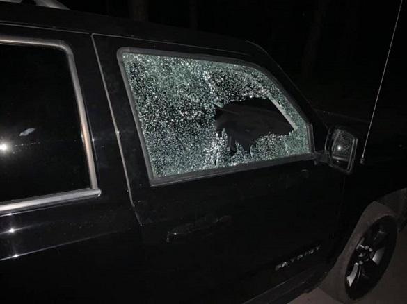Автомобіль члена виконкому пограбували в Черкасах (ФОТО)