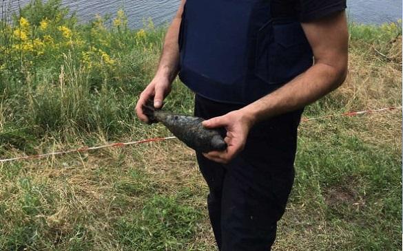 Сапери на Черкащині знищили мінометну міну (ФОТО)