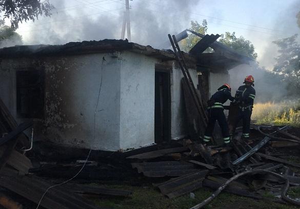 Дві пожежі на Черкащині сталися за останню добу (ФОТО)