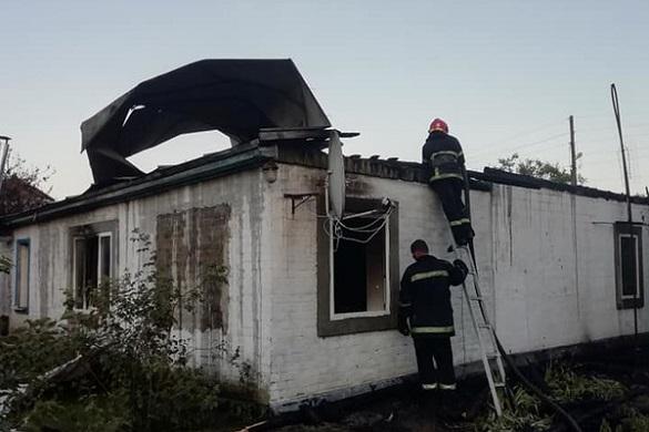Родина на Черкащині втратила будинок через пожежу (ФОТО)