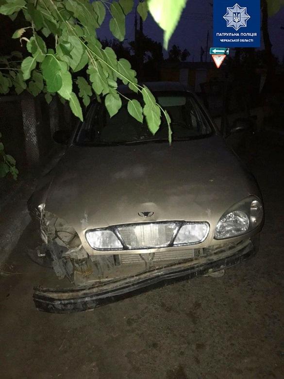 П'яний водій у Черкасах наїхав на огорожу (ФОТО)
